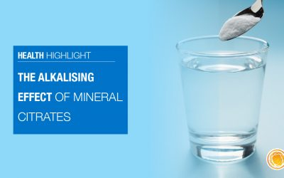 The Alkalising Effect of Mineral Citrates